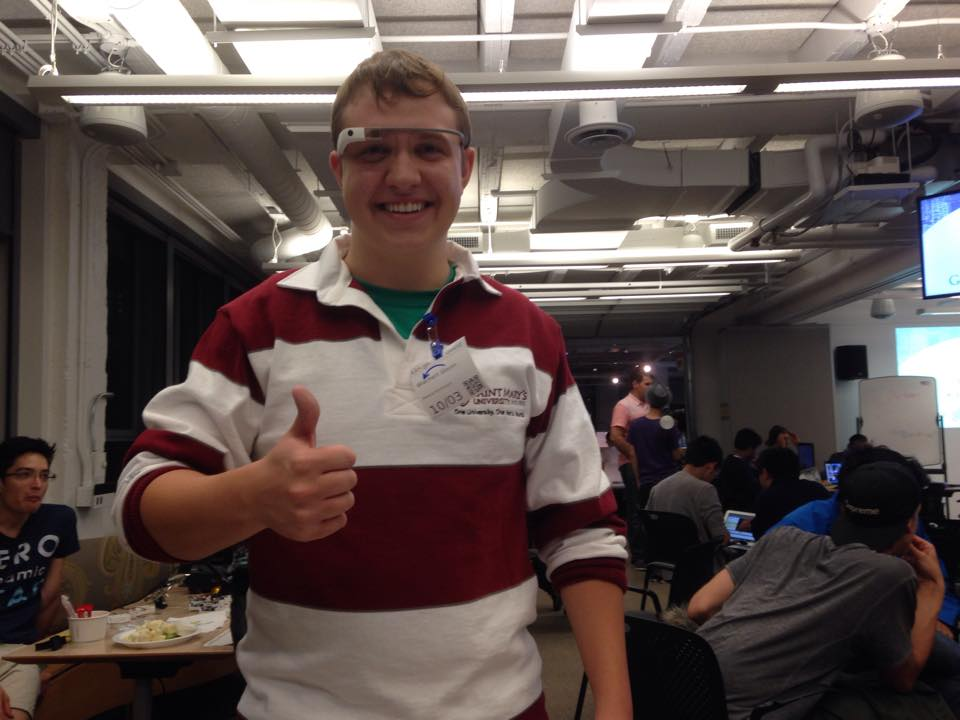 glavin with google glass